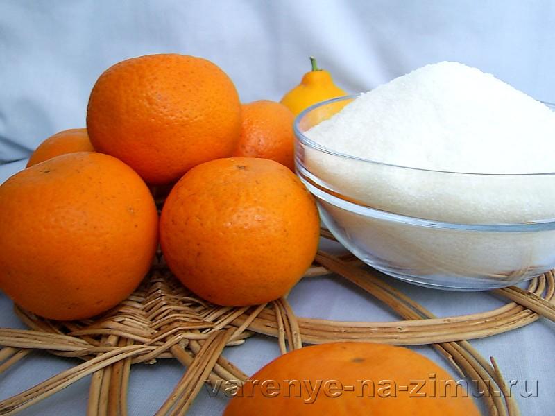 Варенье из мандариновых корок: фото 1