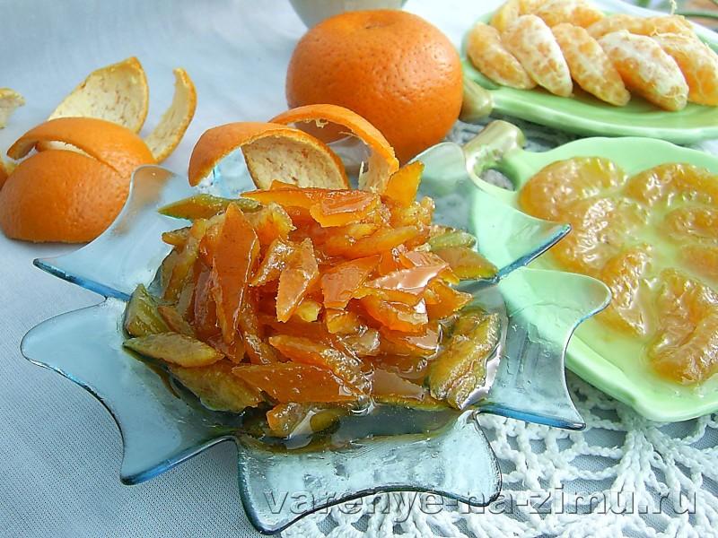 Варенье из мандариновых корок: фото 7
