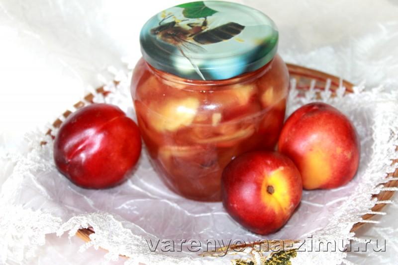 Варенье из нектарина на зиму простой рецепт без косточек: фото 14