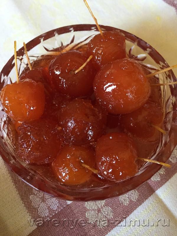 Варенье из райских яблок: фото 10