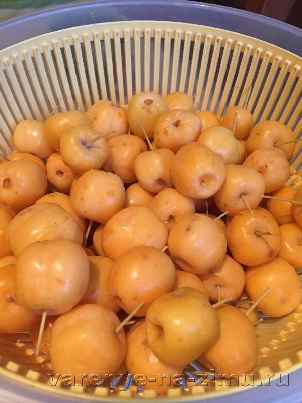 Варенье из райских яблок: фото 4