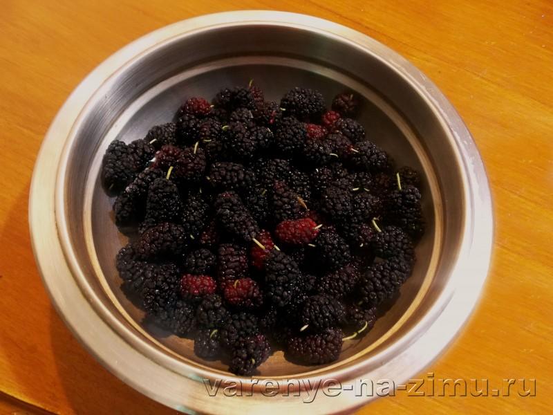 Варенье из шелковицы: фото 2