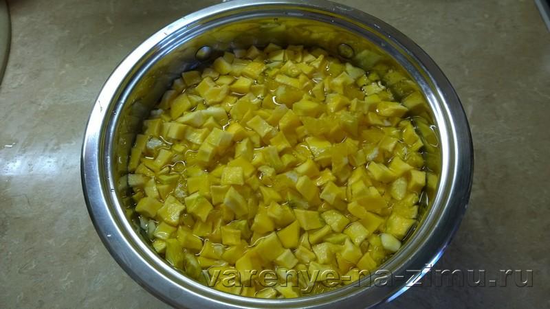 Варенье из тыквы с апельсином и лимоном: фото 3