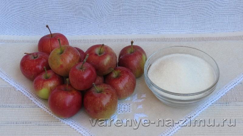 Варенье из яблок дольками: фото 1