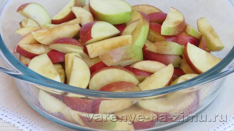 Варенье из яблок дольками: фото 2