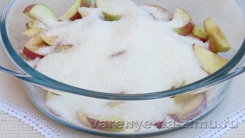 Варенье из яблок дольками: фото 3
