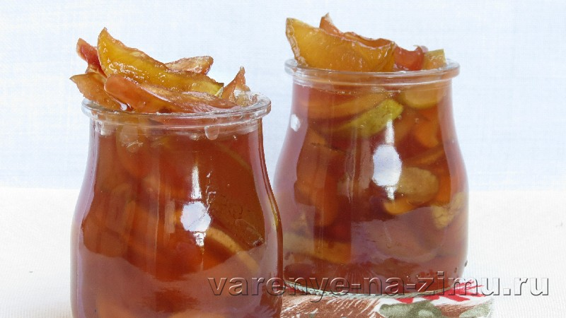 Варенье из яблок дольками: фото 6