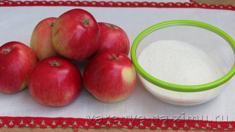 Варенье из яблок пятиминутка: фото 1