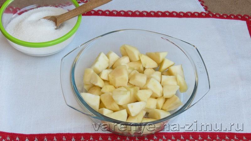 Варенье из яблок пятиминутка: фото 2