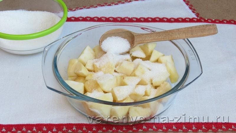 Варенье из яблок пятиминутка: фото 3