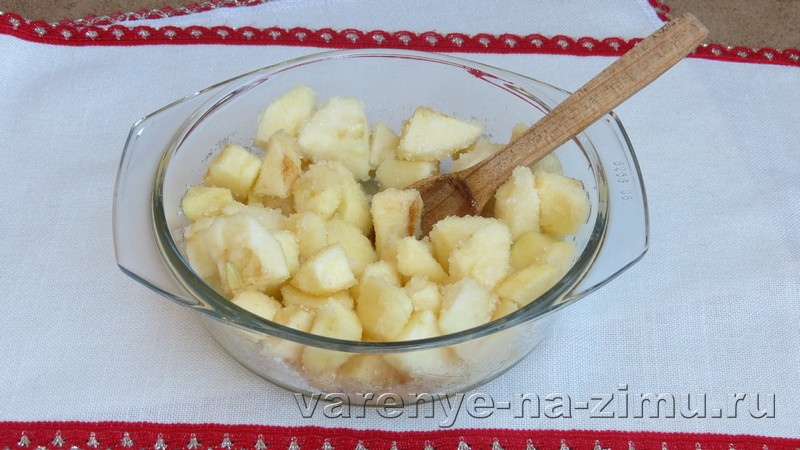 Варенье из яблок пятиминутка: фото 4