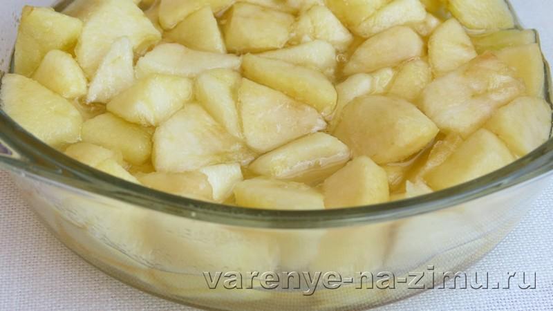 Варенье из яблок пятиминутка: фото 5