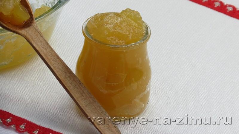 Варенье из яблок пятиминутка: фото 6