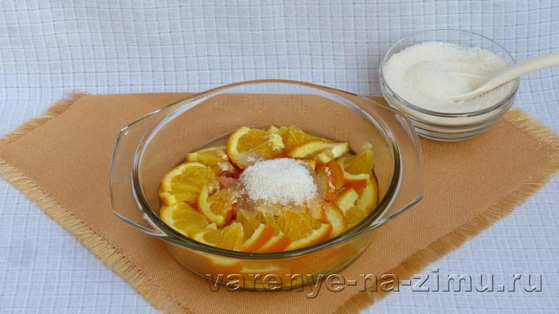 Варенье из яблок с апельсинами: фото 3