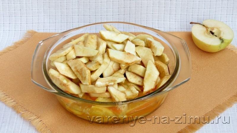 Варенье из яблок с апельсинами: фото 4