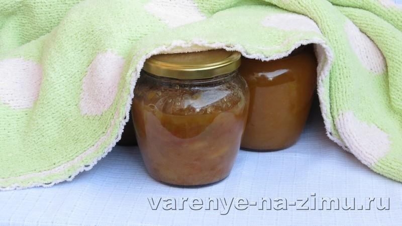 Варенье из яблок с апельсинами: фото 6