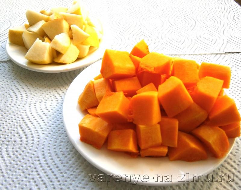 Варенье из яблок с апельсином и тыквой: фото 2
