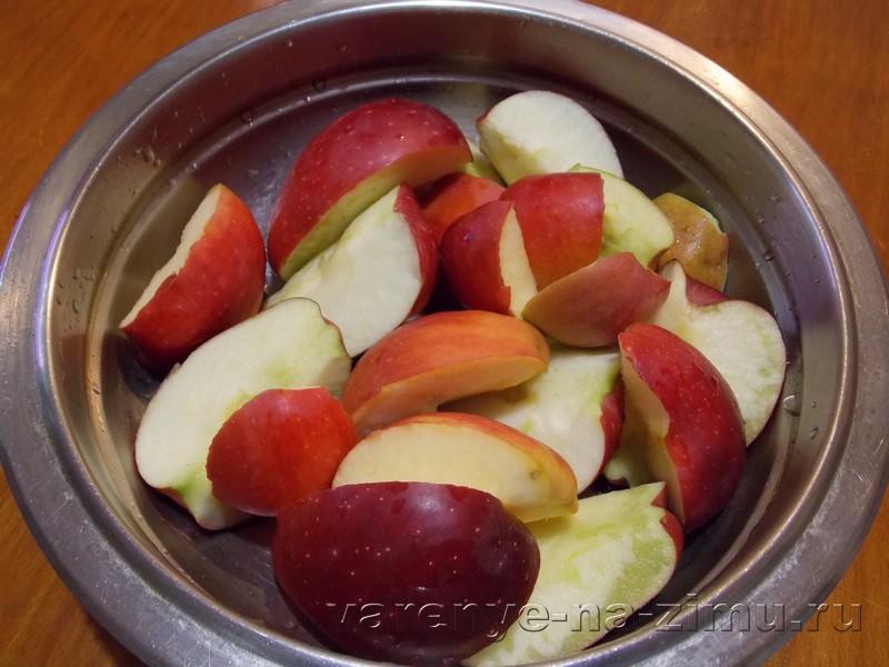 Варенье из яблок с лимоном: фото 1