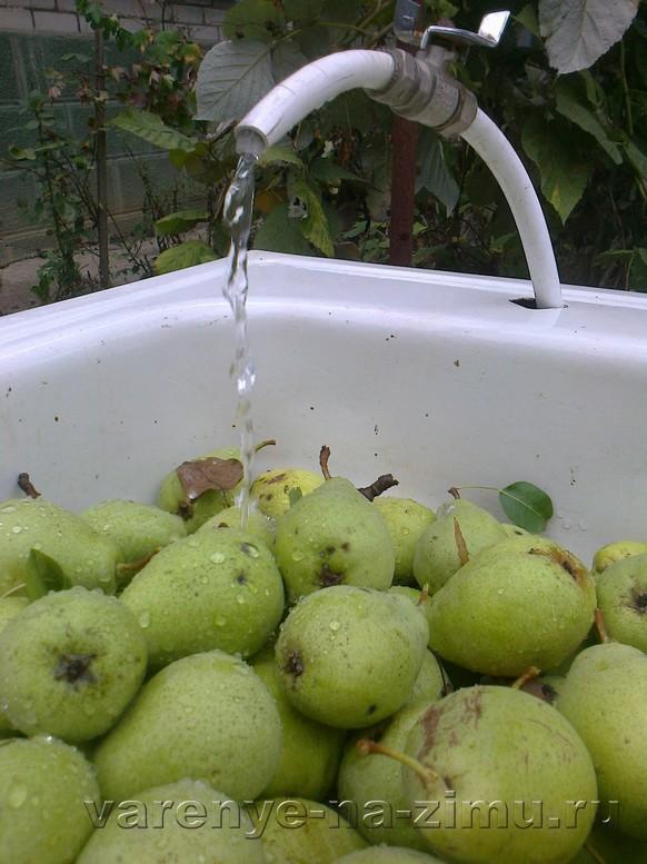 Варенье из зелёных груш: фото 2