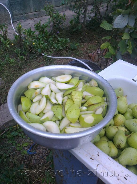 Варенье из зелёных груш: фото 3