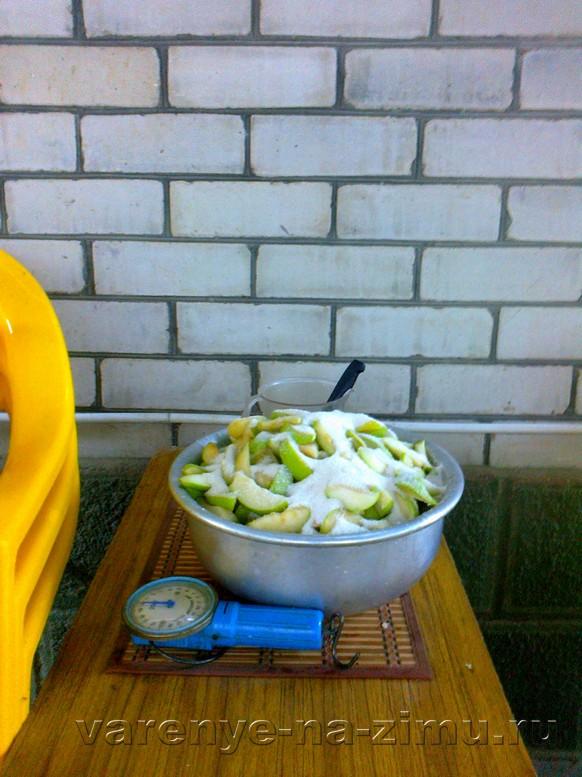 Варенье из зелёных груш: фото 4