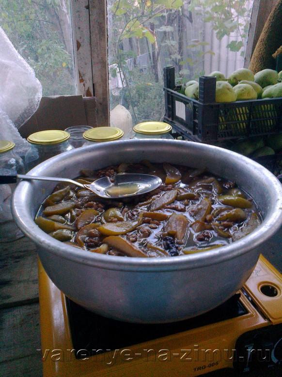 Варенье из зелёных груш: фото 9