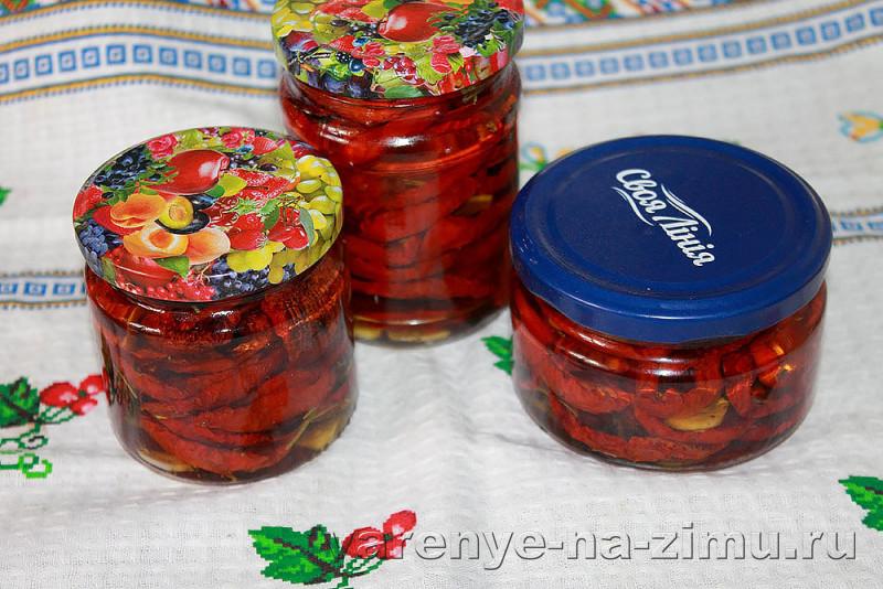Вяленые помидоры на зиму в духовке: фото 20