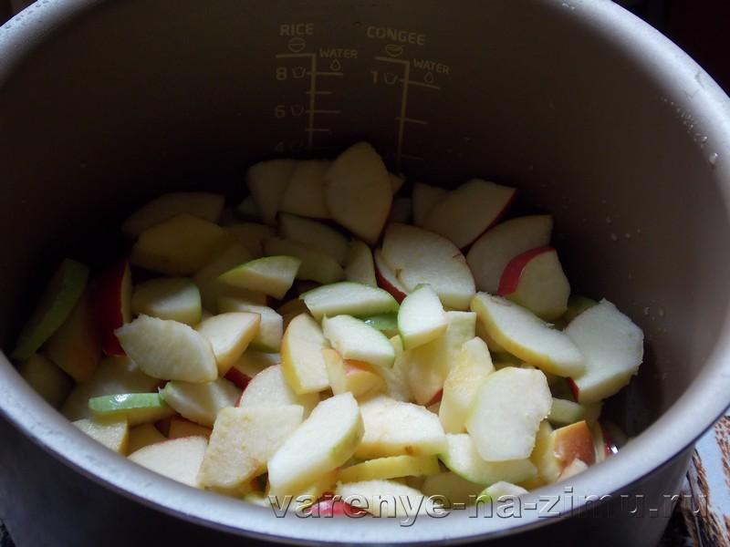 Яблочное варенье в мультиварке: фото 2