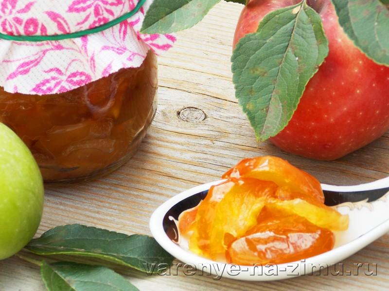 Яблочное варенье в мультиварке