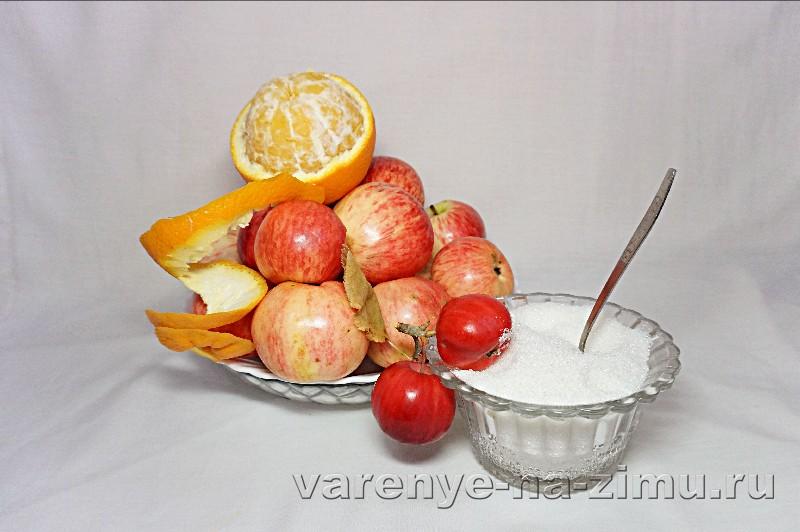 Янтарное варенье с яблоками и апельсинами: фото 1
