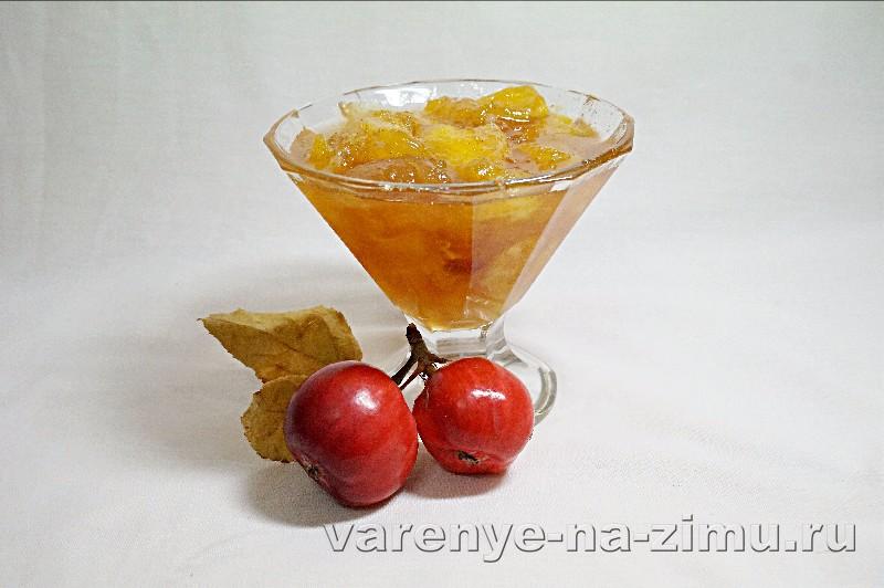 варенье из яблок и апельсинов рецепт с фото пошагово