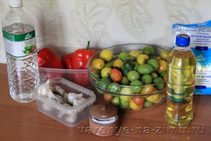 Зеленые помидоры на зиму простой рецепт в банках: фото 1