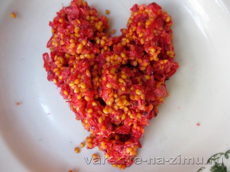 Желе из красной смородины без варки: фото 6