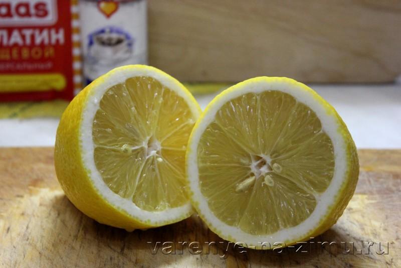Желе из лимона без сахара с желатином: фото 2