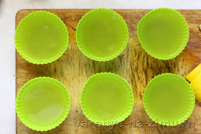 Желе из лимона без сахара с желатином: фото 8